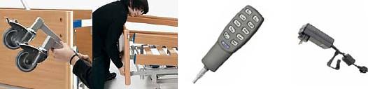 Szczegóły - łóżko rehabilitacyjne Combiflex