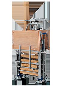 System transportu łóżka rehabilitacyjnego